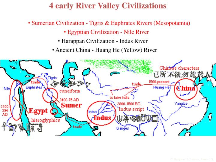 PPT - 4 early River Valley Civilizations PowerPoint Presentation ...