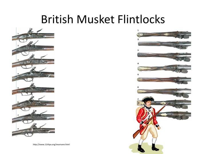 British Musket Flintlocks