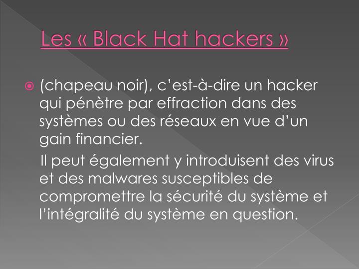 Les «Black