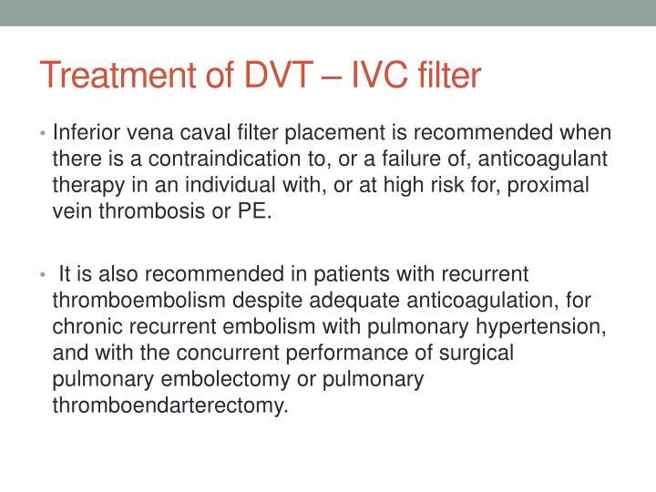 proximal dvt treatment / effects of afib, Cephalic Vein
