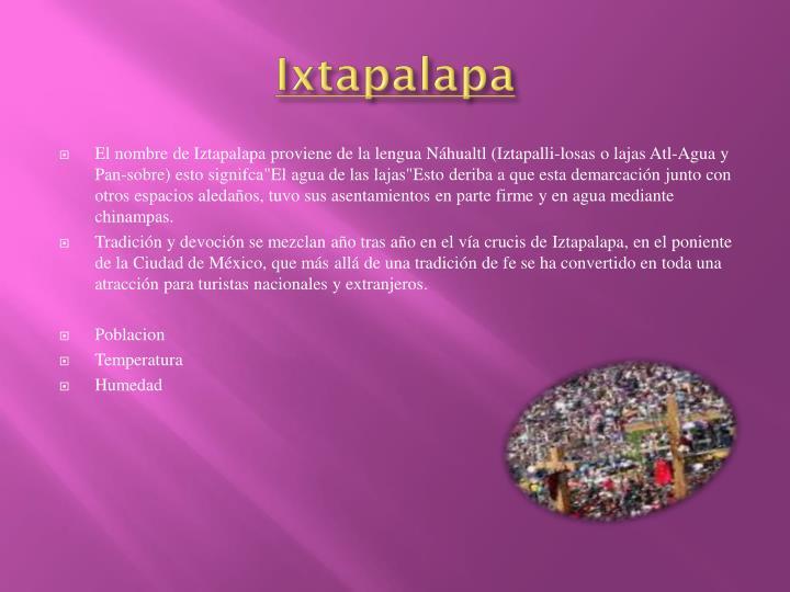 Ixtapalapa