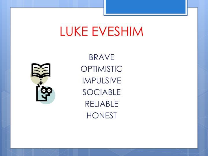LUKE EVESHIM