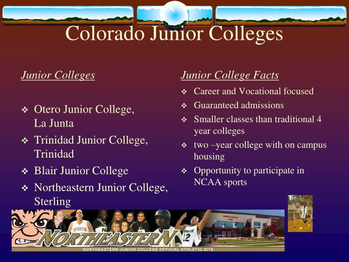 Colorado Junior Colleges