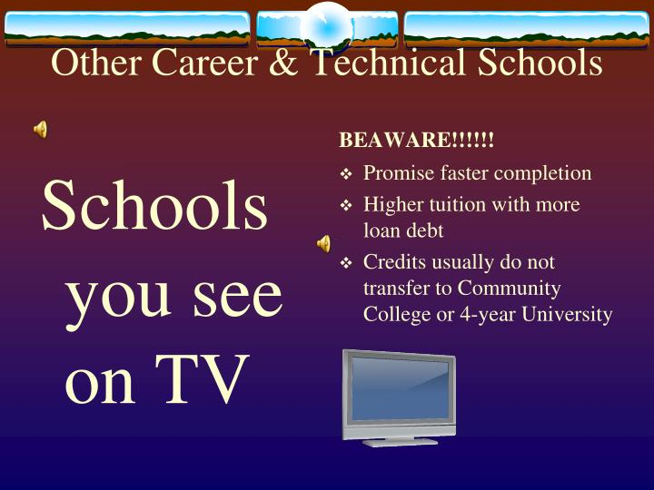 Other Career & Technical Schools
