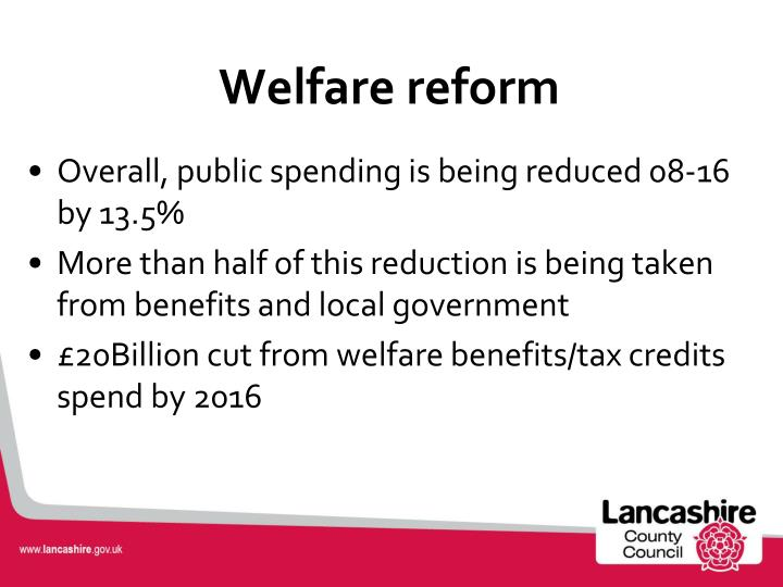 informative speech on welfare reform Critically analyse this ideology in relation to a health or social care policy which is welfare reform debate the relevance of the welfare informative speech.