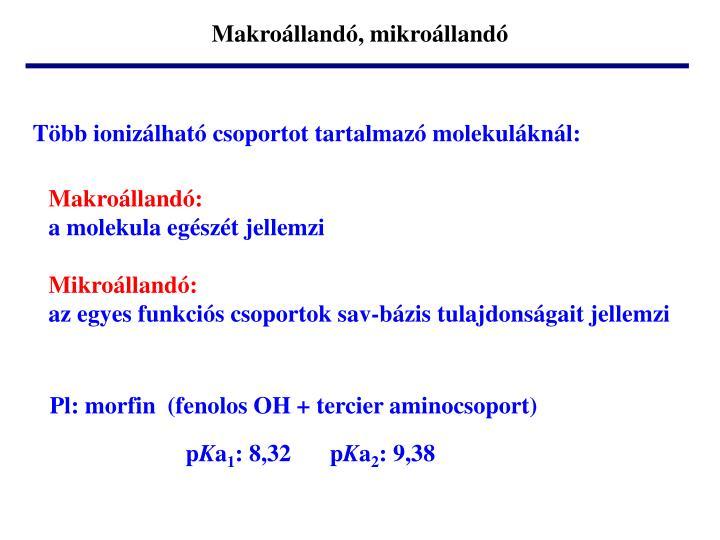 Makroállandó