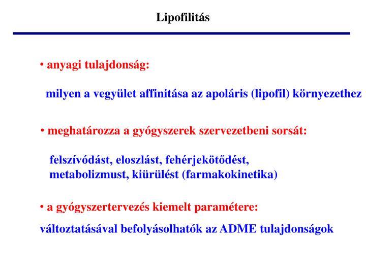 Lipofilitás