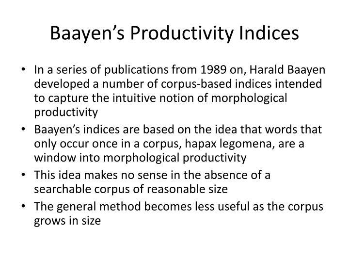 Baayen's