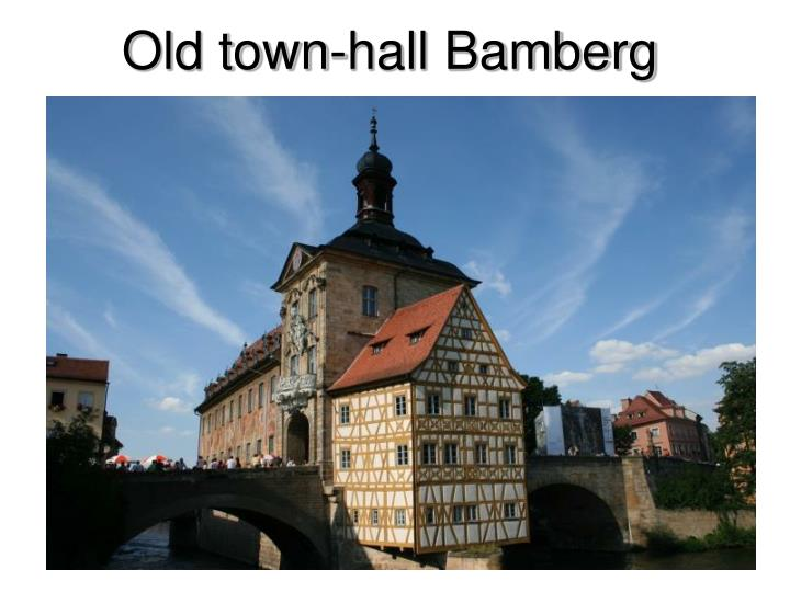 Old town-hall Bamberg