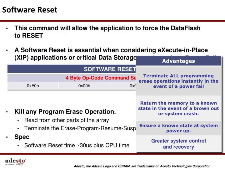 Software Reset