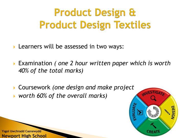 Product Design &