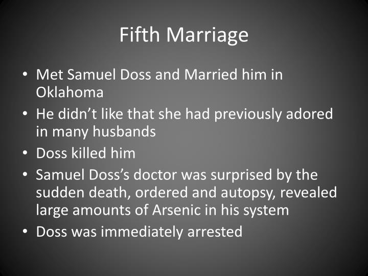 Fifth Marriage