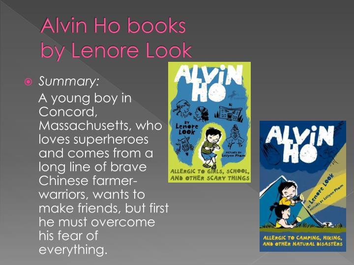 Alvin Ho books