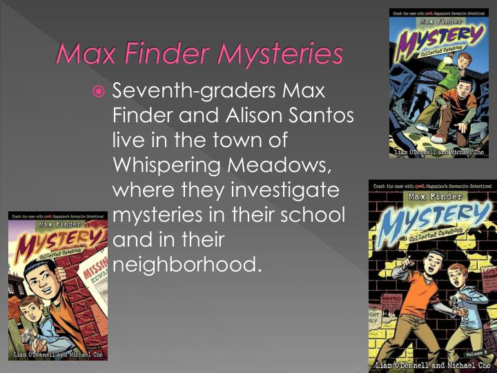 Max Finder Mysteries