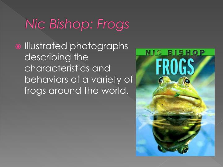 Nic Bishop: Frogs
