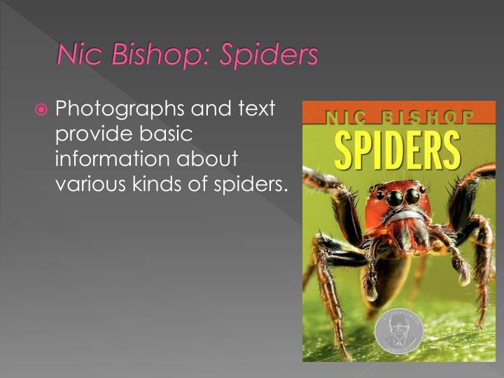 Nic Bishop: Spiders