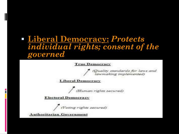 Liberal Democracy: