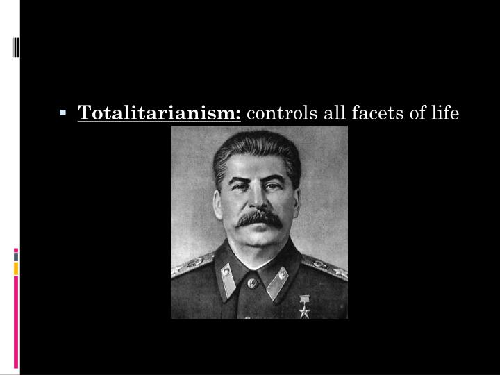 Totalitarianism: