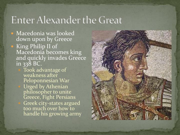 Enter Alexander the Great