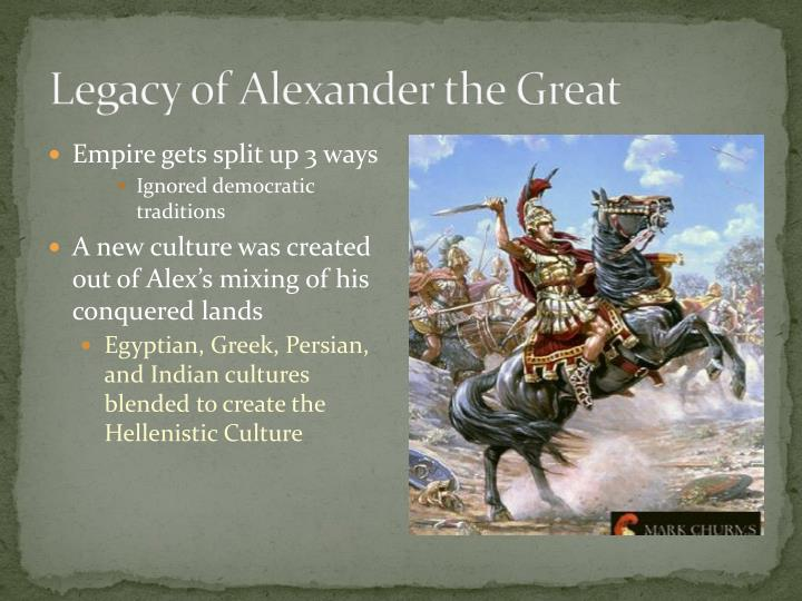Legacy of Alexander the Great