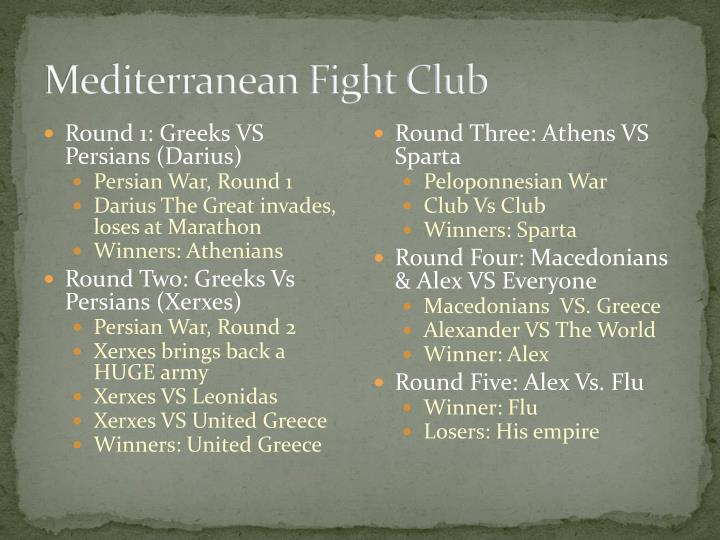 Mediterranean Fight Club