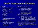 health consequences of smoking