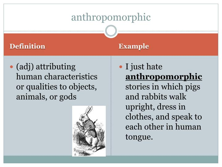 anthropomorphic
