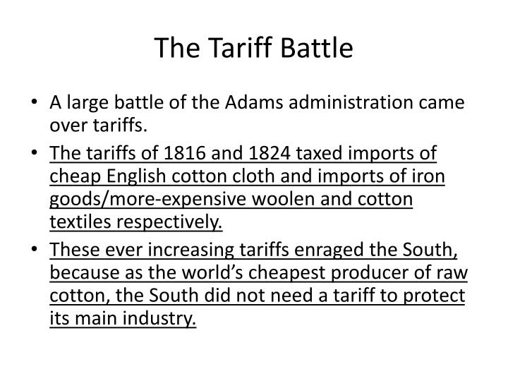 The Tariff Battle