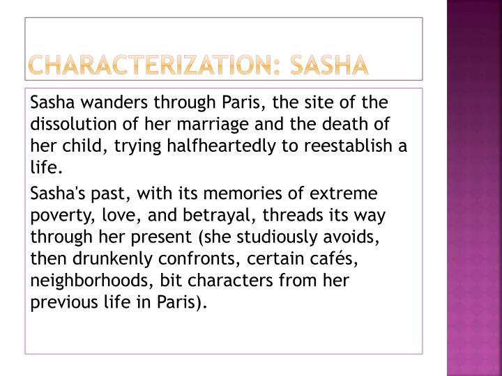 Characterization: Sasha
