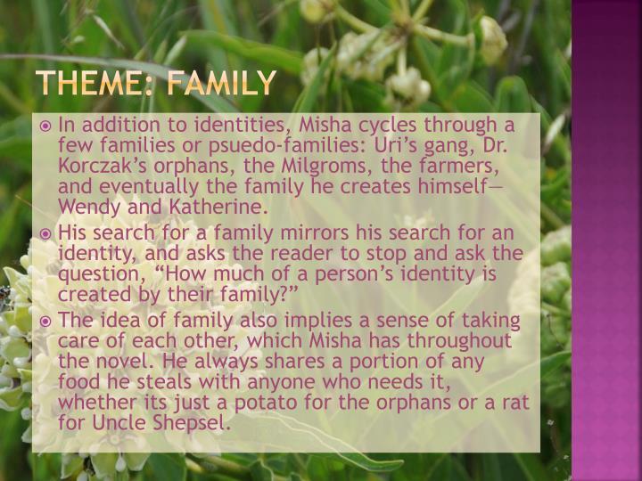 Theme: Family