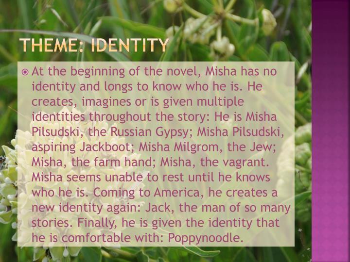 Theme: Identity