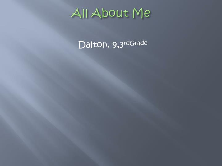 All about me1