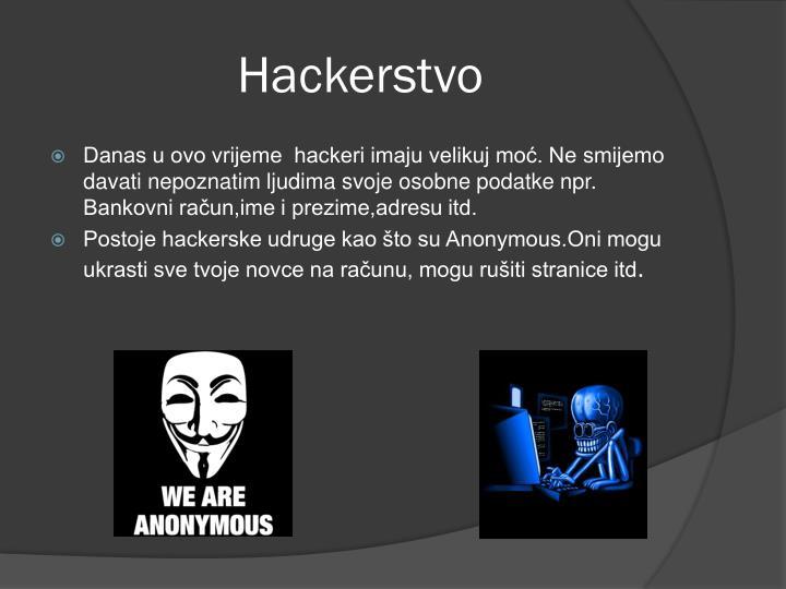Hackerstvo
