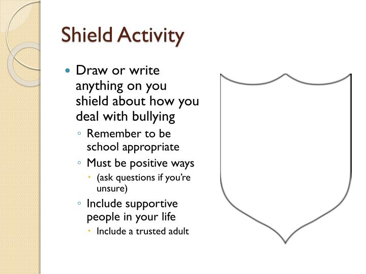 Shield Activity