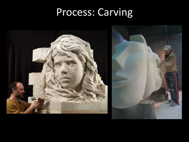 Process: Carving