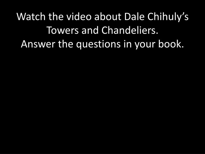 Watch the video about Dale