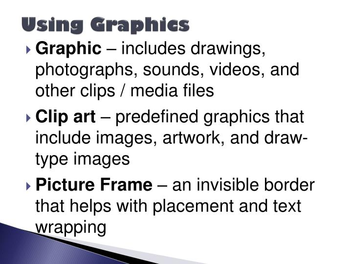 Using Graphics