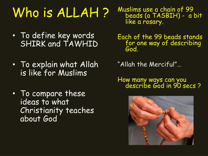 Who is allah1