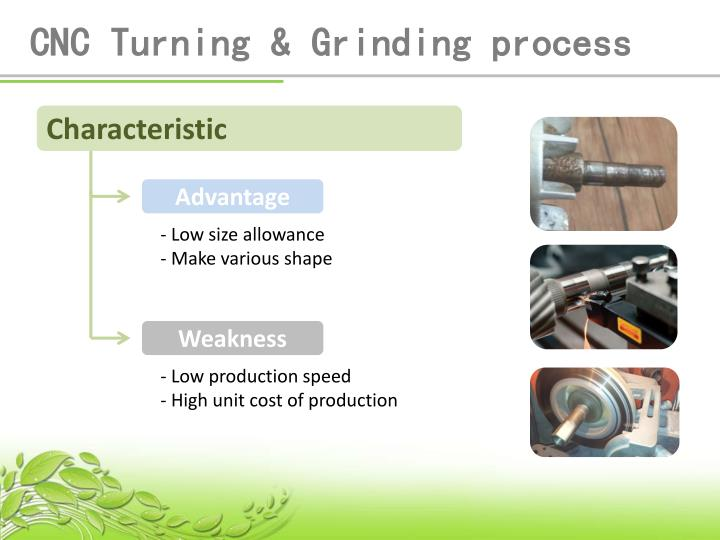 CNC Turning & Grinding process