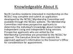 knowledgeable about il