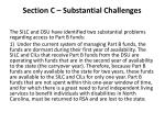 section c substantial challenges1