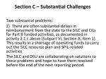 section c substantial challenges2