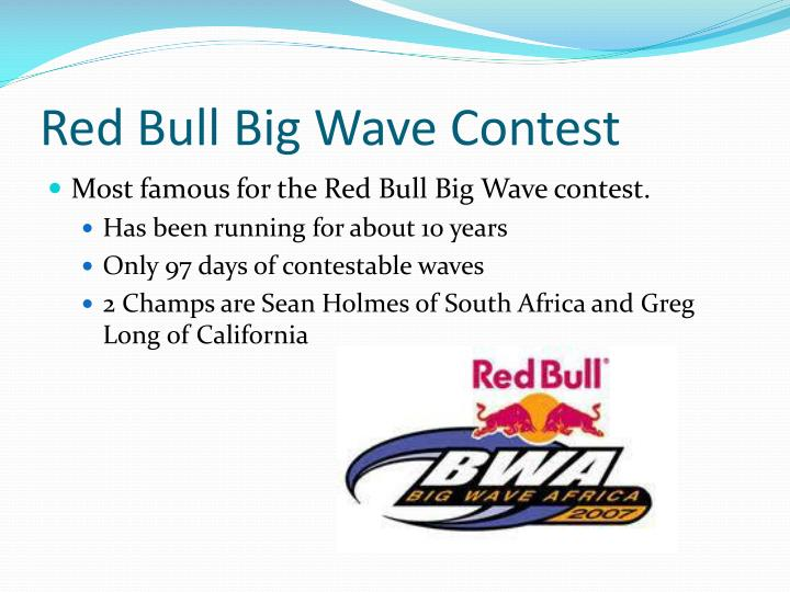 Red Bull Big Wave Contest
