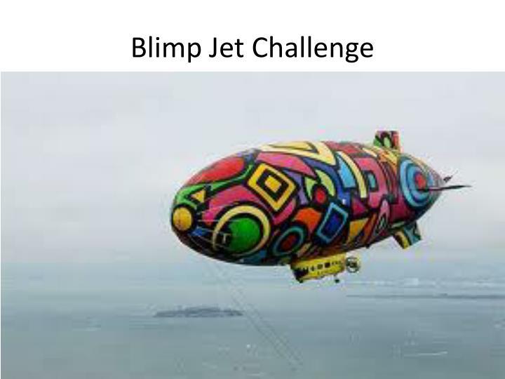 Blimp Jet Challenge