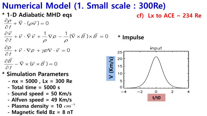 Numerical Model (1. Small scale : 300Re)