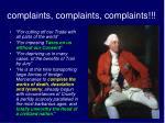 complaints complaints complaints1
