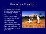 property freedom