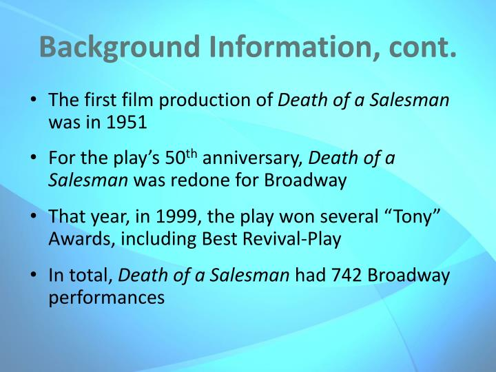 Background Information, cont.