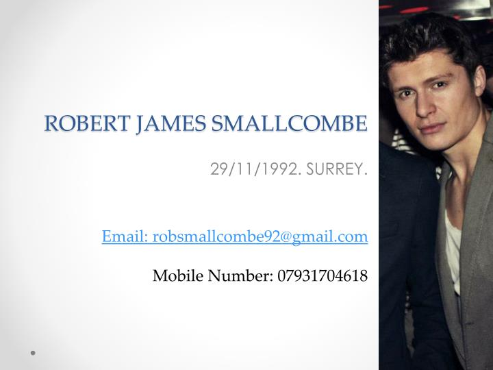 Robert james smallcombe