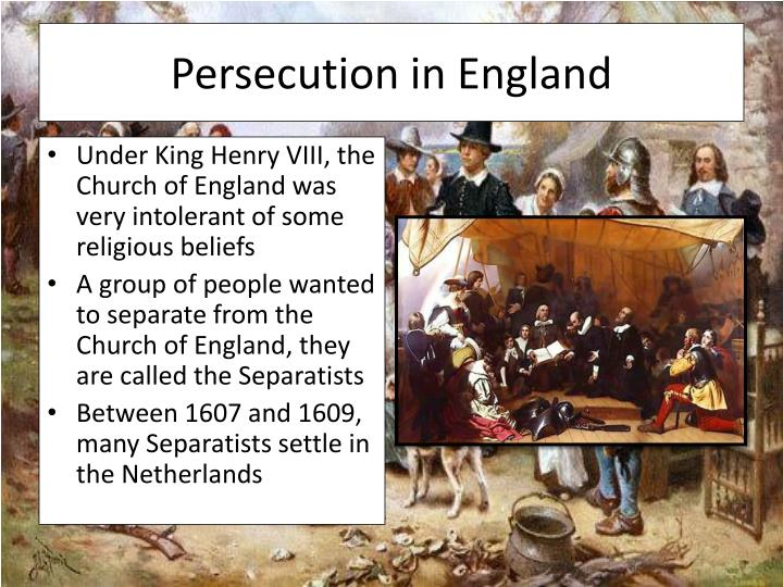 Persecution in England